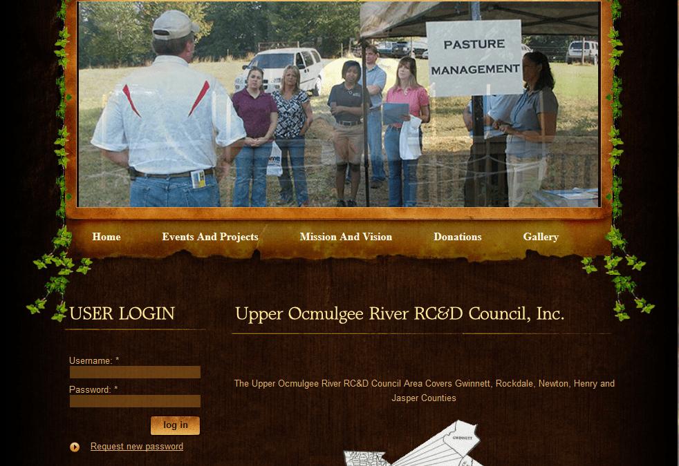 The Upper Oculgee RRC&D Council